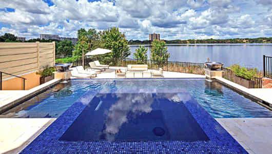 florida vacation home pool